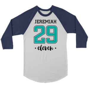 Jeremiah 29:11 Raglan Shirt - The Praying Woman