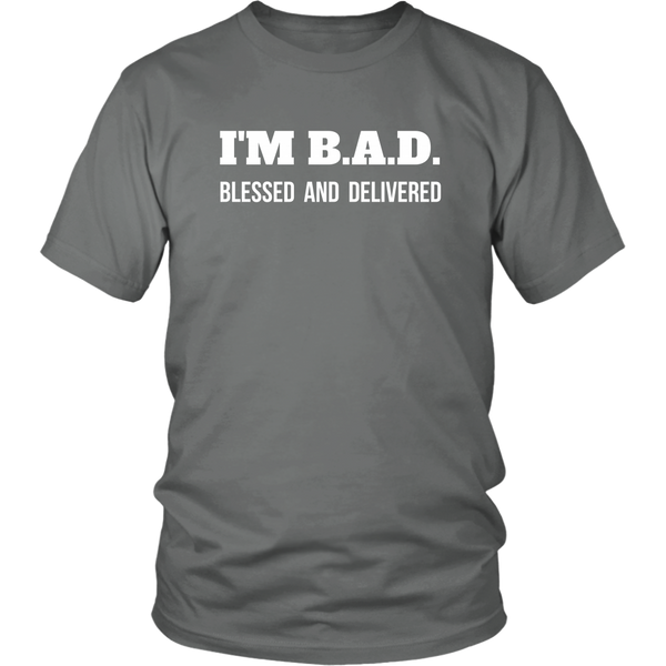 Blessed and Delivered Unisex T-Shirt - The Praying Woman