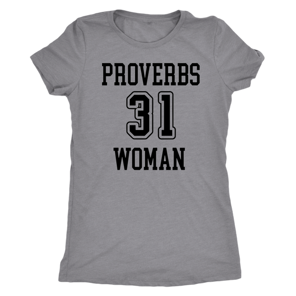 Proverbs 31 Woman Triblend T-Shirt - Pretty Praise
