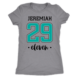 Jeremiah 29 T-Shirt (Womens) - The Praying Woman