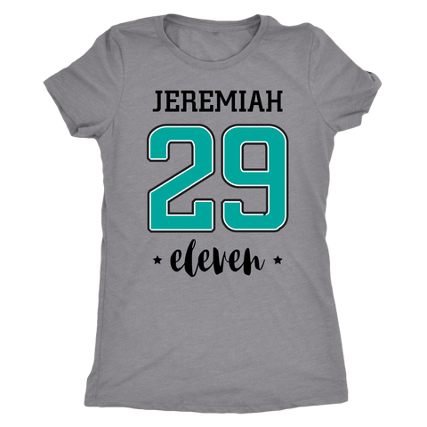 Jeremiah 29 T-Shirt (Womens) - Pretty Praise