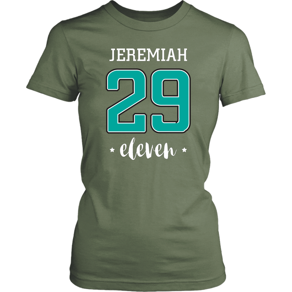 Jeremiah 29:11 T-Shirt (Ladies) - Pretty Praise