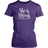 She is Strong T-Shirt - Pretty Praise