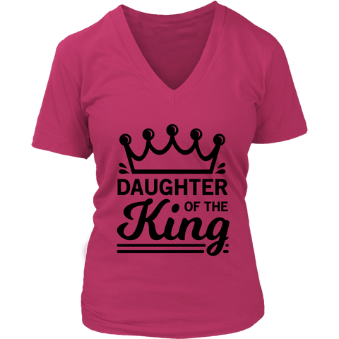 Daughter of the King V-Neck T-Shirt