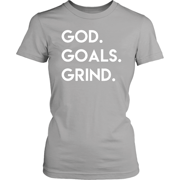 God Goals Grind T-Shirt (Ladies) - Pretty Praise