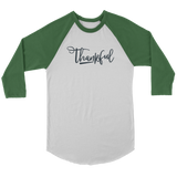 Thankful Baseball Tee - The Praying Woman