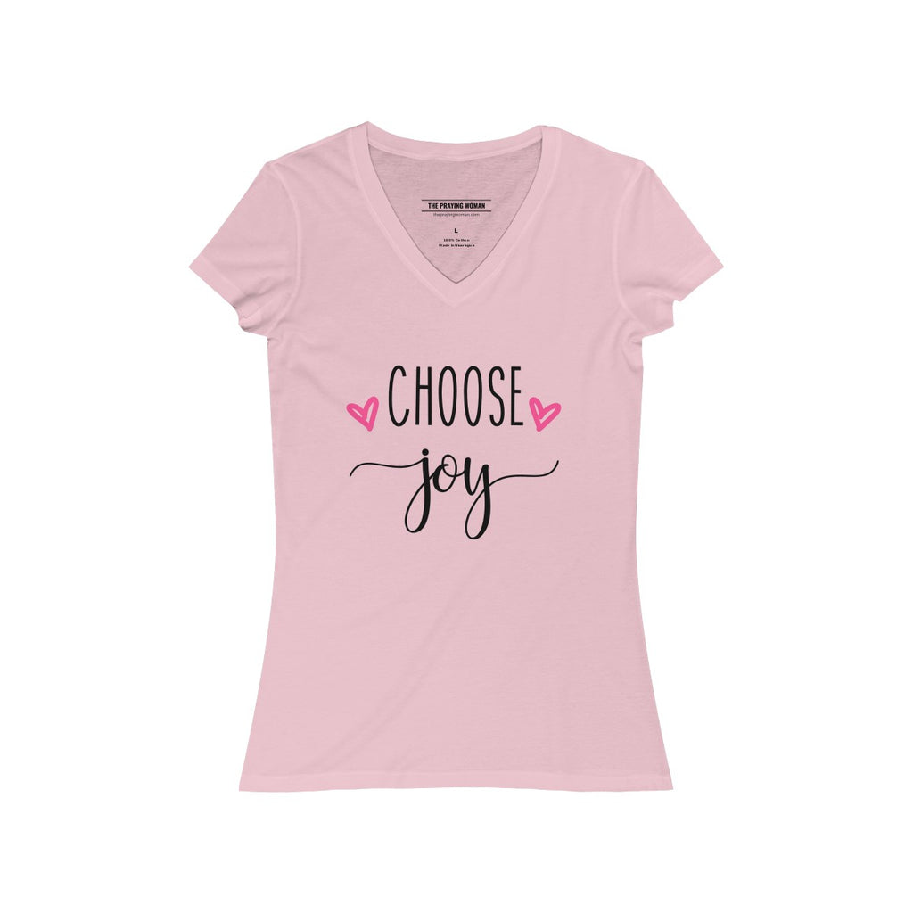 Choose Joy V-Neck Tee
