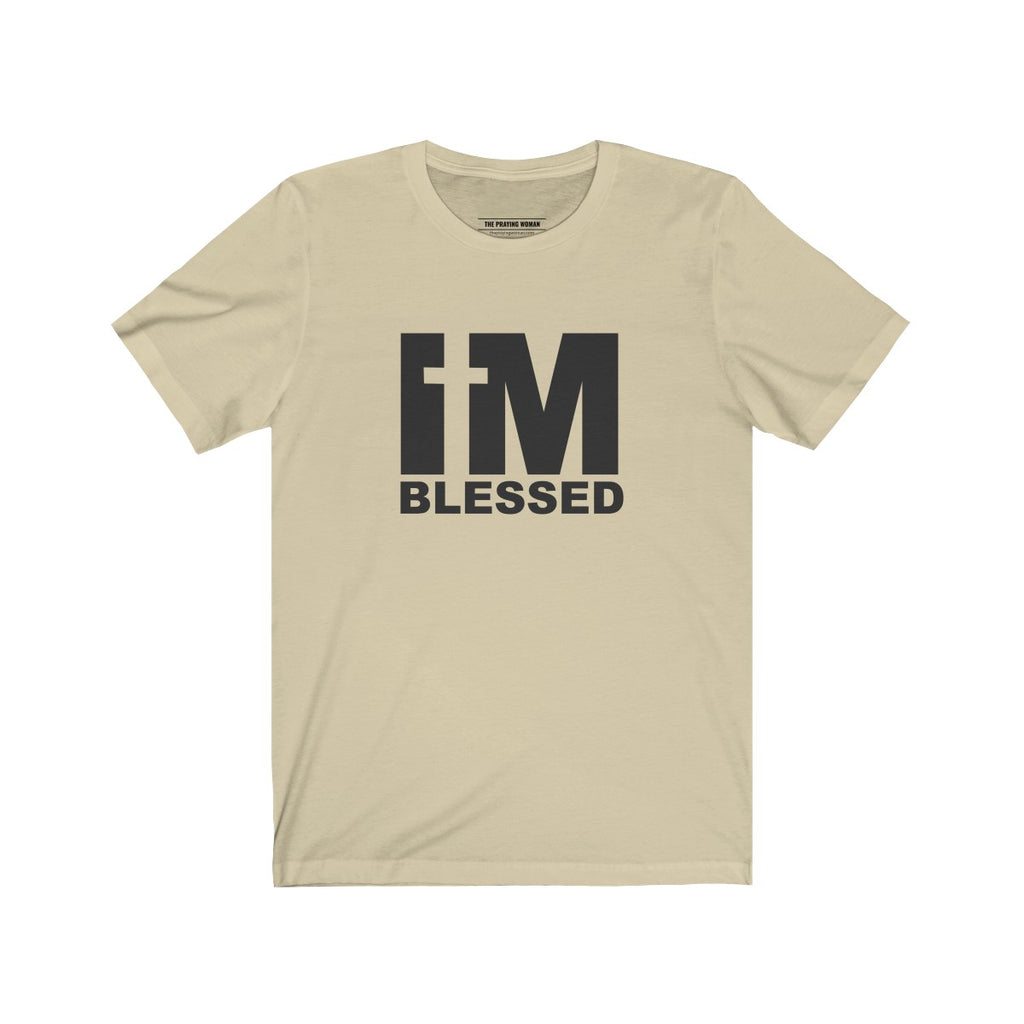 I'm Blessed Short Sleeve Tee