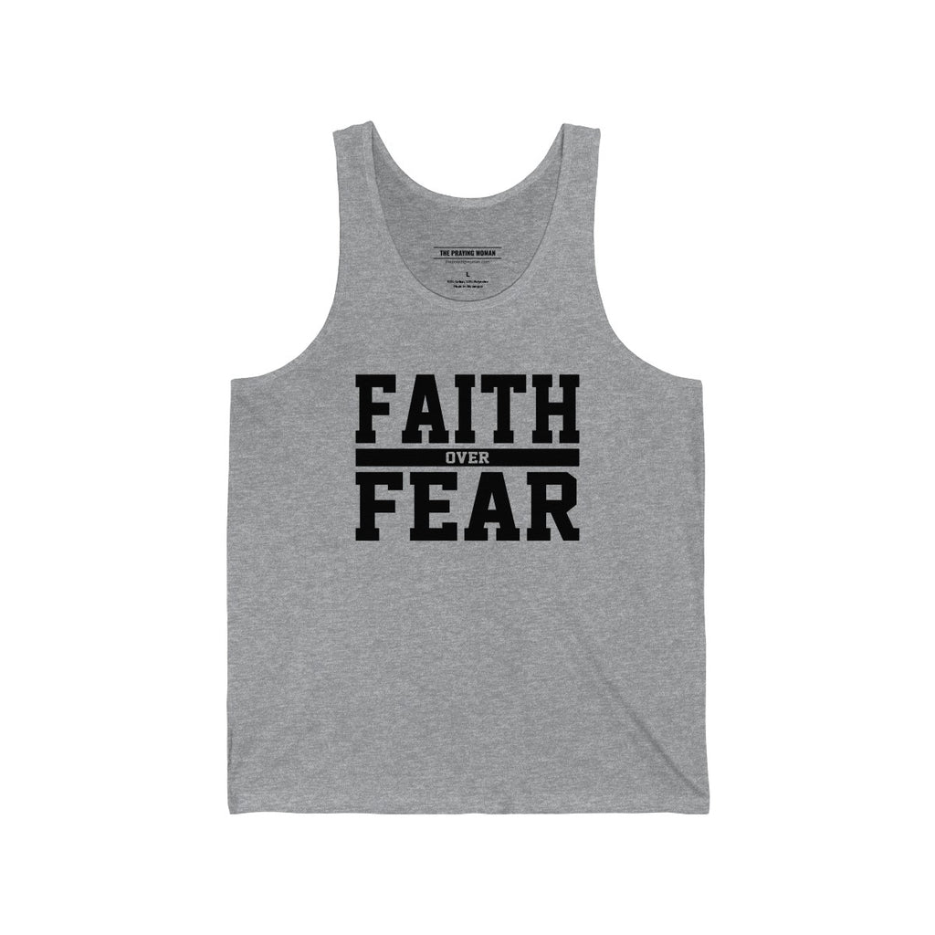 Faith Over Fear Tank Top