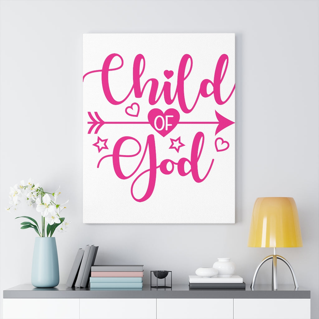 Child of God Canvas Wall art