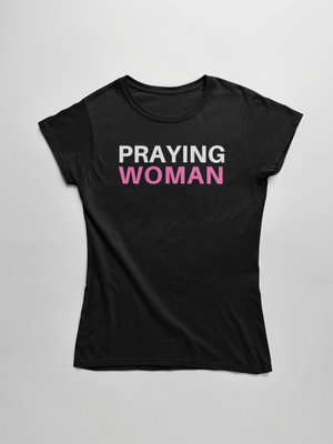 Praying Woman Short Sleeve Tee