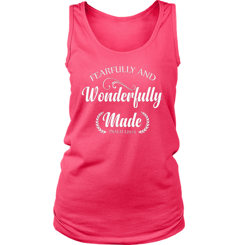 Fearfully and Wonderfully Made Tank Top
