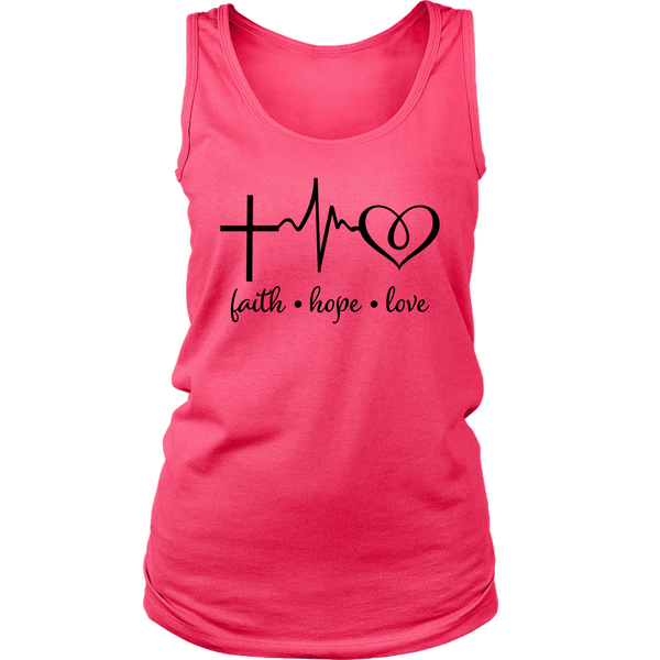 Faith Hope Love Tank Top - Pretty Praise