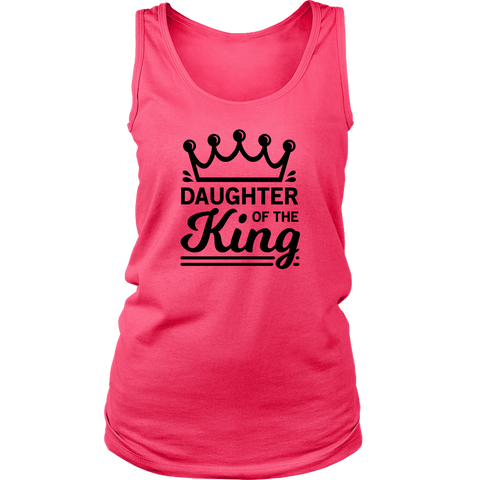 Daughter of the King Tank Top - The Praying Woman