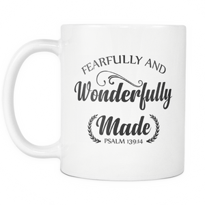 Fearfully and Wonderfully Made Mug - The Praying Woman