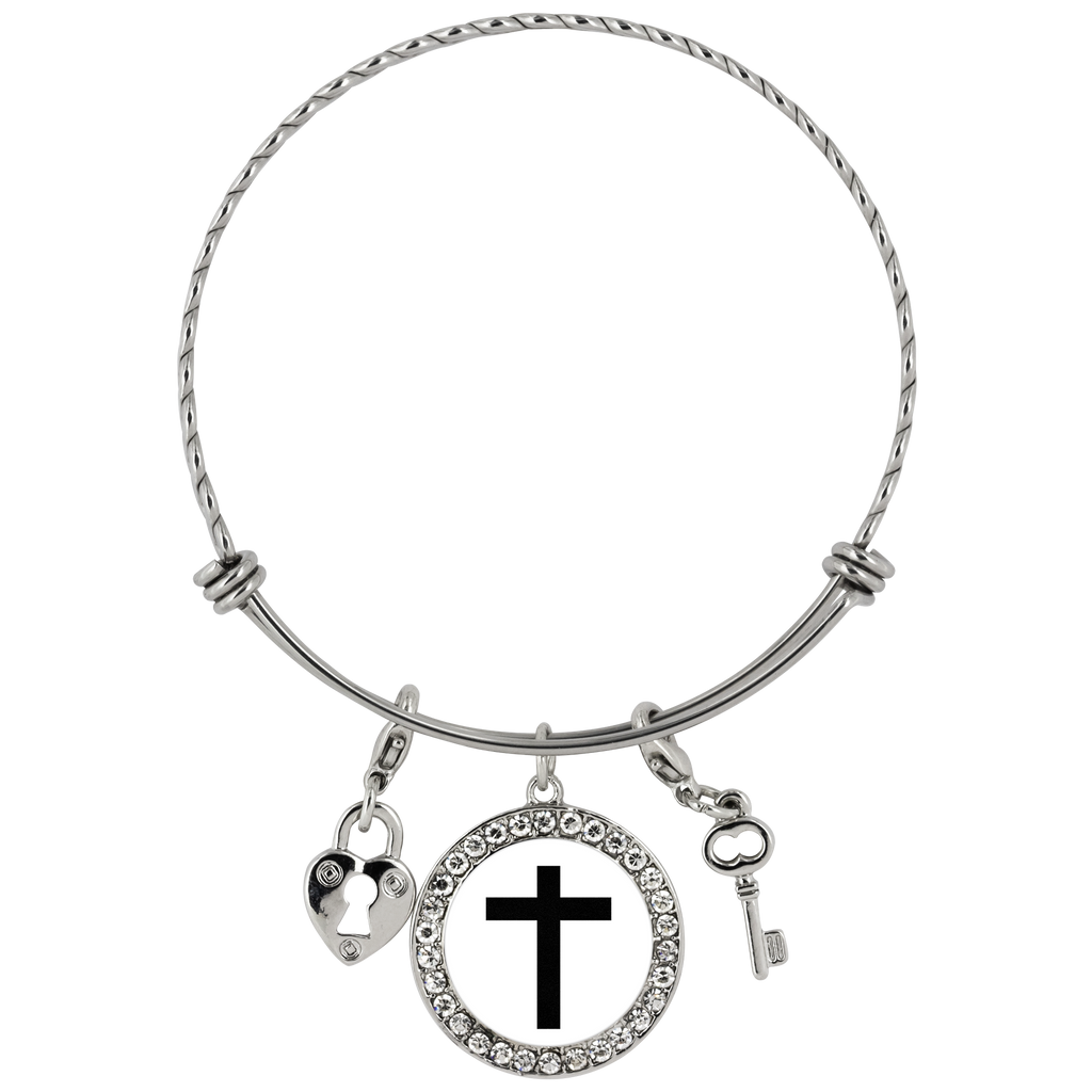 Cross Chloe Bracelet - The Praying Woman