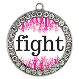 Breast Cancer Fight Chloe Bracelet - The Praying Woman
