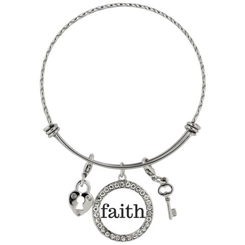 Faith Chloe Bracelet - The Praying Woman