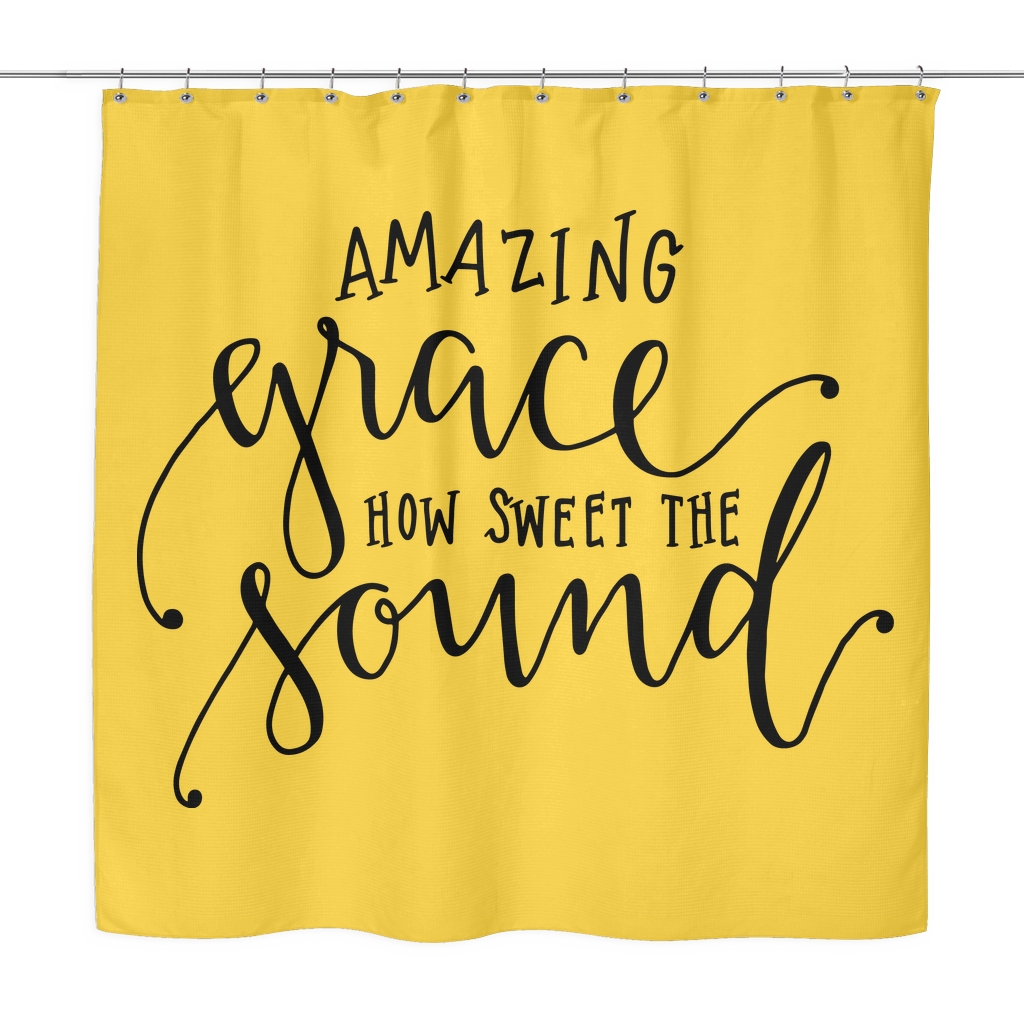 Amazing Grace Shower Curtain - The Praying Woman
