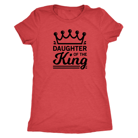 Daughter of the King Triblend T-Shirt - The Praying Woman