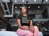 God Goals Grind T-Shirt (Ladies)