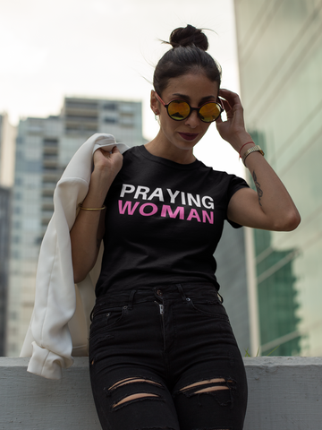 Praying Woman T-Shirt - The Praying Woman