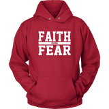 Faith over Fear Hoodie - The Praying Woman