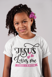 Kids Jesus Loves Me Tee