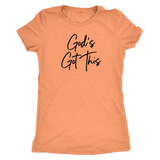 God's Got This Triblend T-Shirt - The Praying Woman
