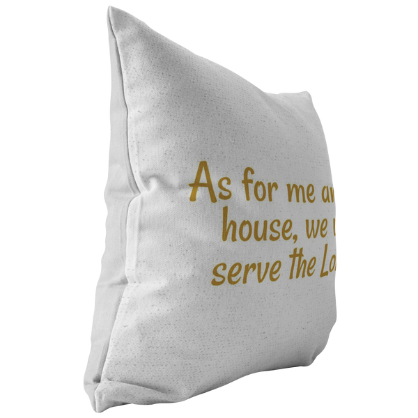 Joshua 24:15 Pillow - Pretty Praise