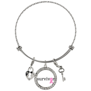 Breast Cancer Survivor Chloe Bracelet - The Praying Woman