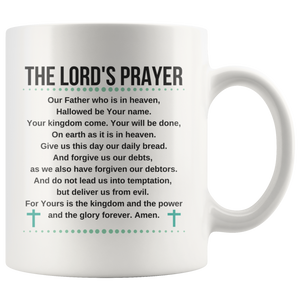 The Lord's Prayer Mug - The Praying Woman