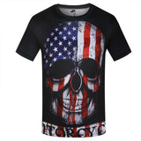 Colorful Stylish 3D T Shirt - Men