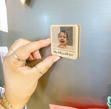 Load image into Gallery viewer, Personalised Wooden Magnet - Photo