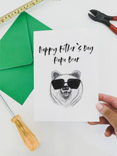 Load image into Gallery viewer, Father's Day Card - Papa Bear