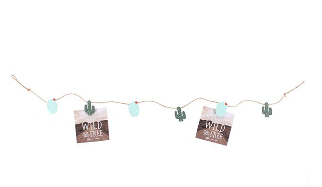 BOHO CACTUS PICTURE STRING GARLAND