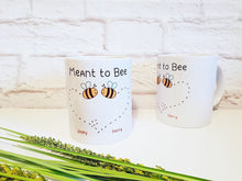 Load image into Gallery viewer, Meant to Bee Couples Mug