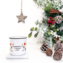 Load image into Gallery viewer, Christmas Cookie Personalised Mug - 8oz Black