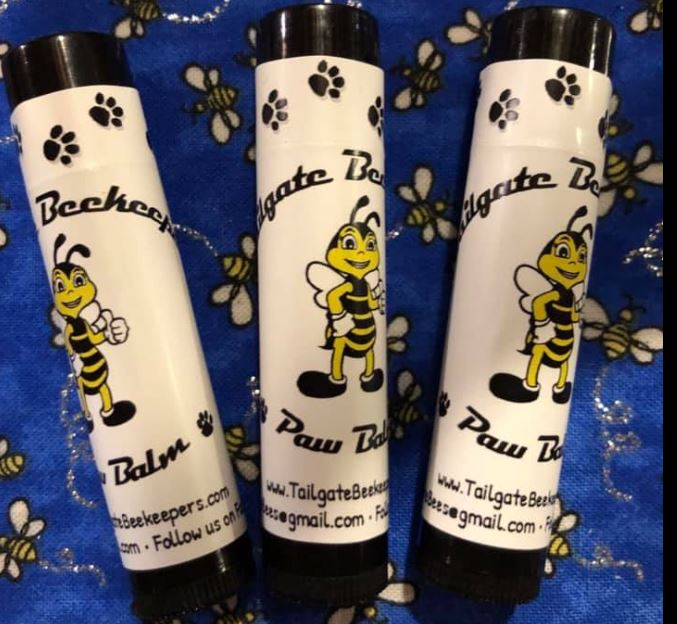 Tailgate Beekeepers Paw Balm