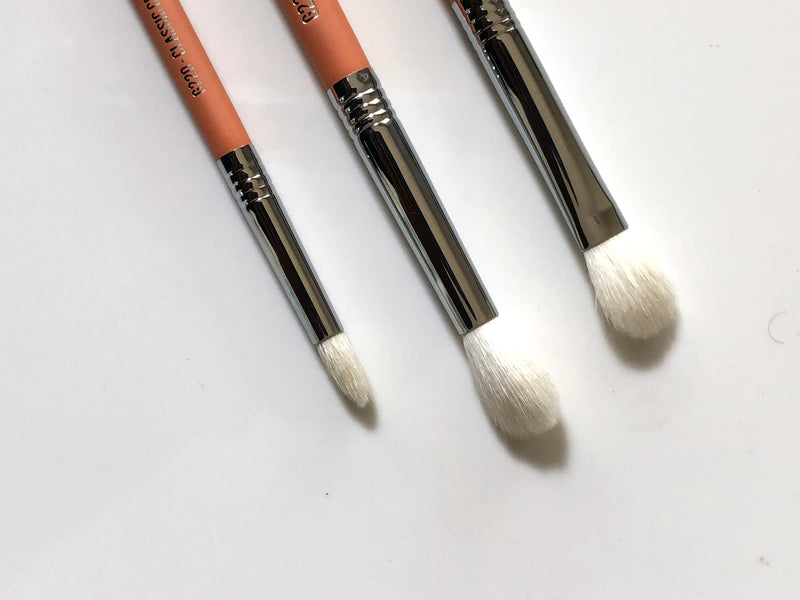 NUDE 3PCS CREASE BRUSH COLLECTION