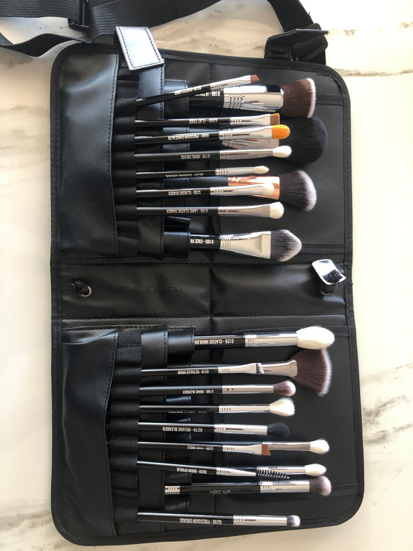 Professional makeup brush set | evita joseph brushes