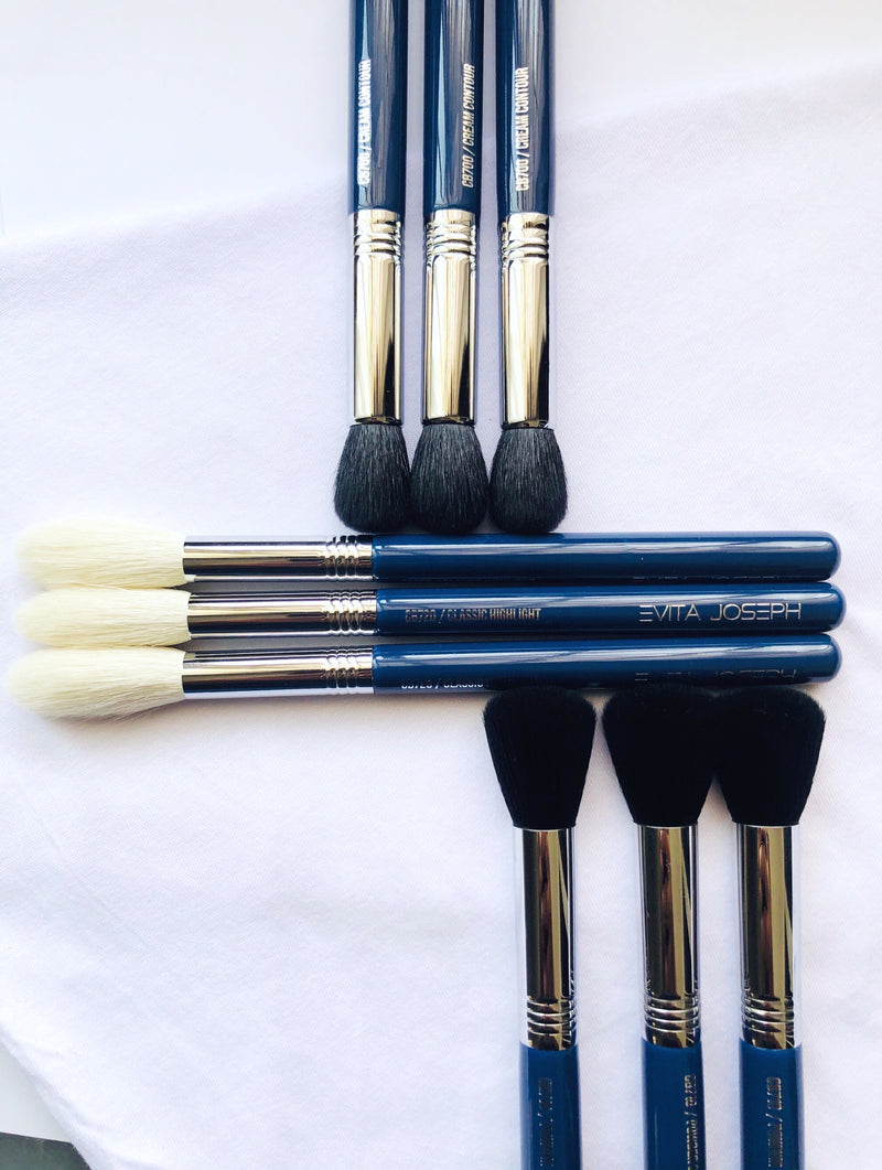 3PCS TOURLIGHT BRUSH COLLECTION
