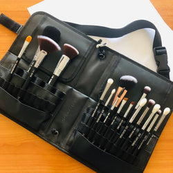 16 Pcs Professional Makeup Brush Set With Brush Book Pro