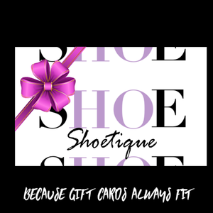 Shoetique Gift Card