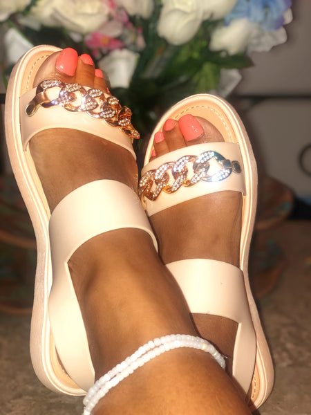 Cuban Link Sandals (Sale)
