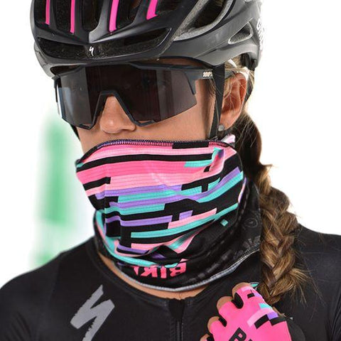 Cuello - Protector Facial Ciclismo Mujer |  Cycling Headwear for Women