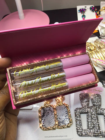 My Little Secret Bundle Lipgloss & Box