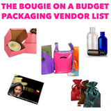 The Bougie On A Budget Packaging Vendor List