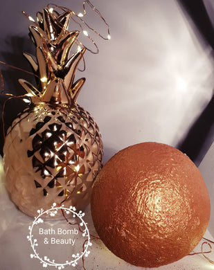 Golden Orb - Bath Bomb & Beauty