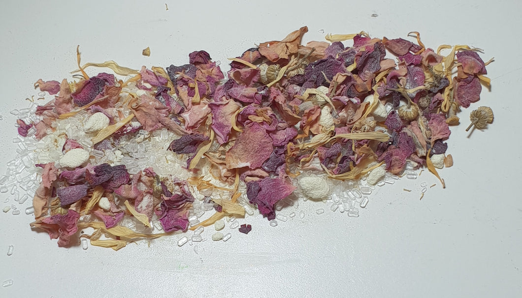 Botanical Butter Milk Bath Mix - Bath Bomb & Beauty